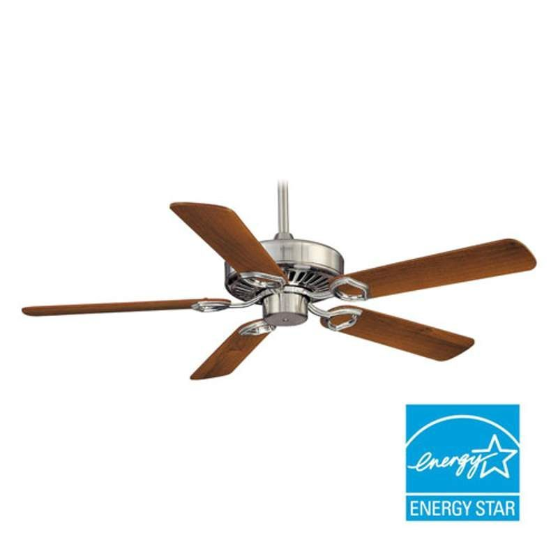 """MinkaAire Ultra-Max 5 Blade 54"""" Ceiling Fan - Wall Control Handheld Remote Cont"""