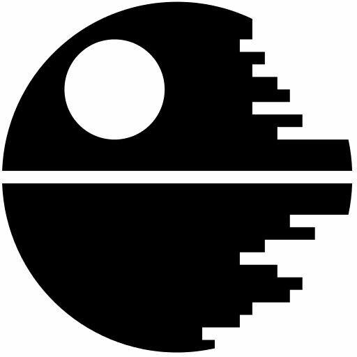 Pin By Tammy Walker On Monograms Star Wars Stencil Star Wars Silhouette Star Wars Death Star