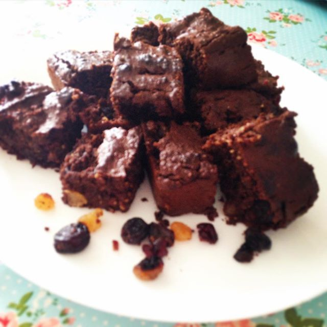Sweet potato chocolate cake squares – Em's healthy kitchen