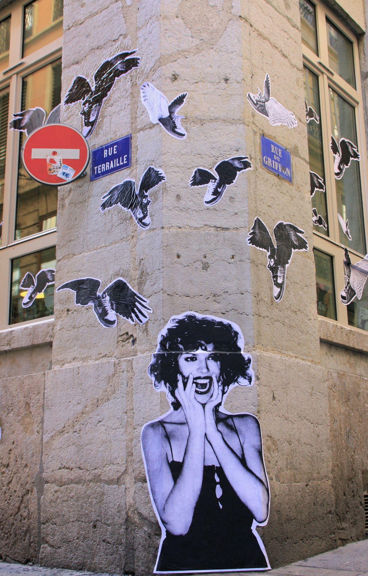Street art lyon mural lyon street art lyon pinterest street