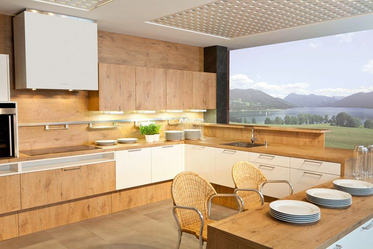 Dankuchen Fronta Burguesaeiche Kitchen Home Kitchen Cabinets