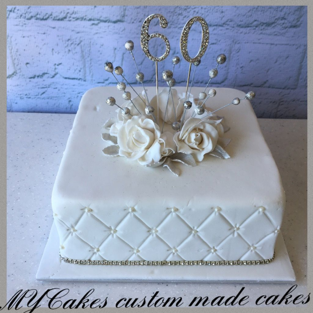 60 Wedding Anniversary Party Ideas: 60 Th Wedding Anniversary Fruit Cake