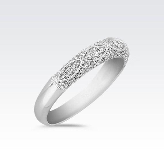 Diamond Vintage Wedding Band Vintage Wedding Band Vintage Diamond Wedding Ring Bands