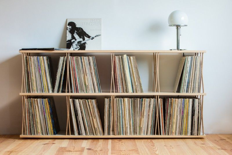 Meubles Pour Ranger Des Vinyles  Vinyles Ranger Et Idee Deco