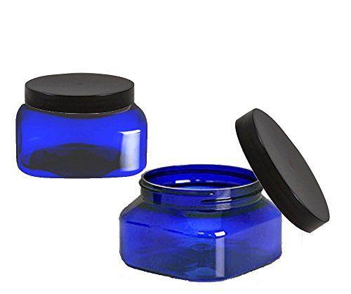Grand Parfums 8 Oz Cobalt Blue Square PET Jar Straight Si... https://www.amazon.com/dp/B01DMNGPDM/ref=cm_sw_r_pi_dp_x_25Zmyb7HBGH07