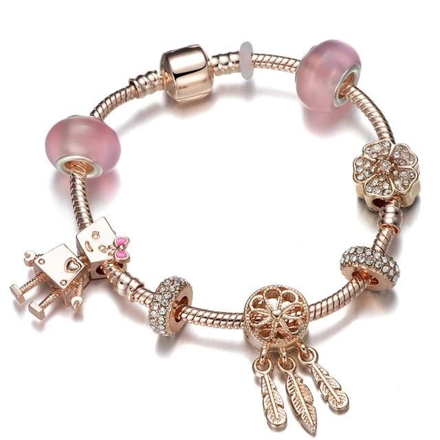 Who Sells Pandora Jewelry: Pandora Charm Bracelet Crown Beads In 2020
