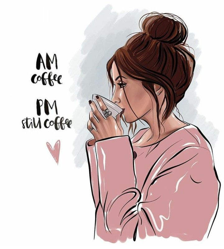 This is a graphic of Irresistible Girl Drinking Drawing