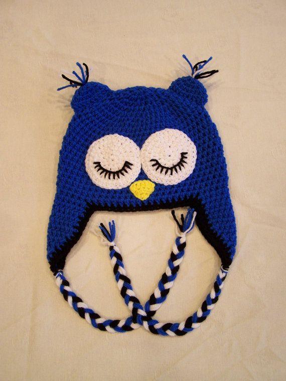 sleepy owl hat | Gorros | Pinterest | Gorros