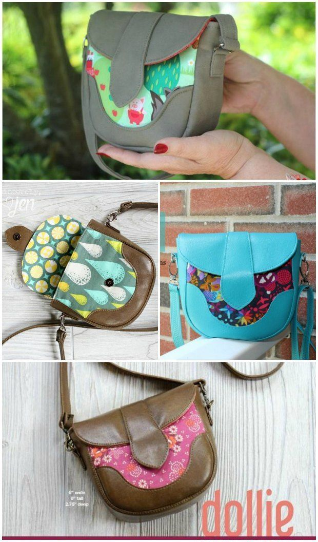 Dollie Mini Crossbody Bag - free pattern | Sewing patterns, Free ...