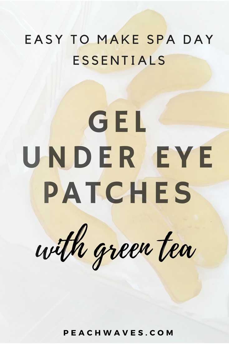 These gel under eye patches are so efficient at helping you get rid ...