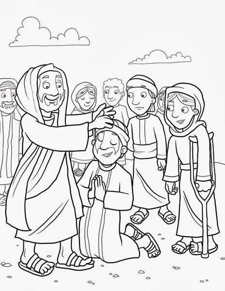 ME ABURRE LA RELIGIÓN: DIEZ LEPROSOS SON SANADOS   Actividades Niños ...
