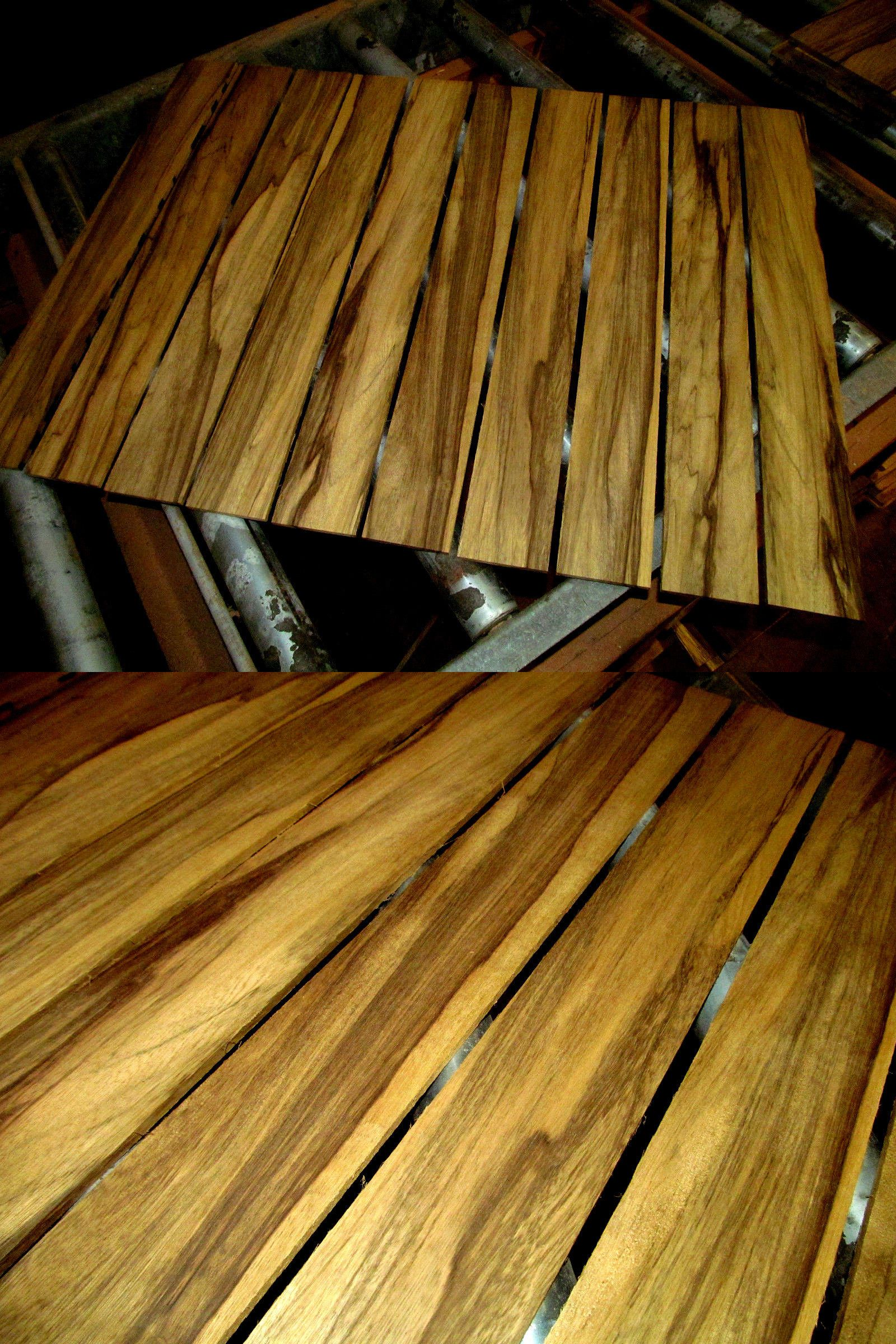 Woodworking lumber 84011 ten 10 pieces thin kiln dried sanded exotic black limba 24 x 3 x 1 4 wood buy it now only 49 95 on ebay