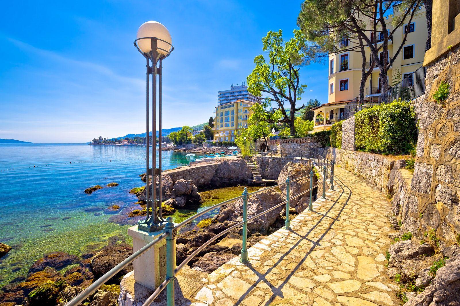 Visit Have A Walk Along Lungomare Opatija Places To Travel Croatia Travel Visit Croatia
