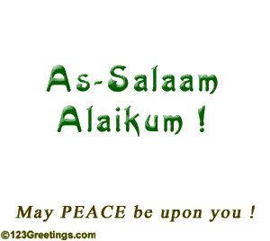 Salaam Alaykum Is An Arabic Greeting Often Used By Muslim Around The World It Mean Pe Islamic Inspirational Quotes Assalamualaikum Image Inspirational Quotes