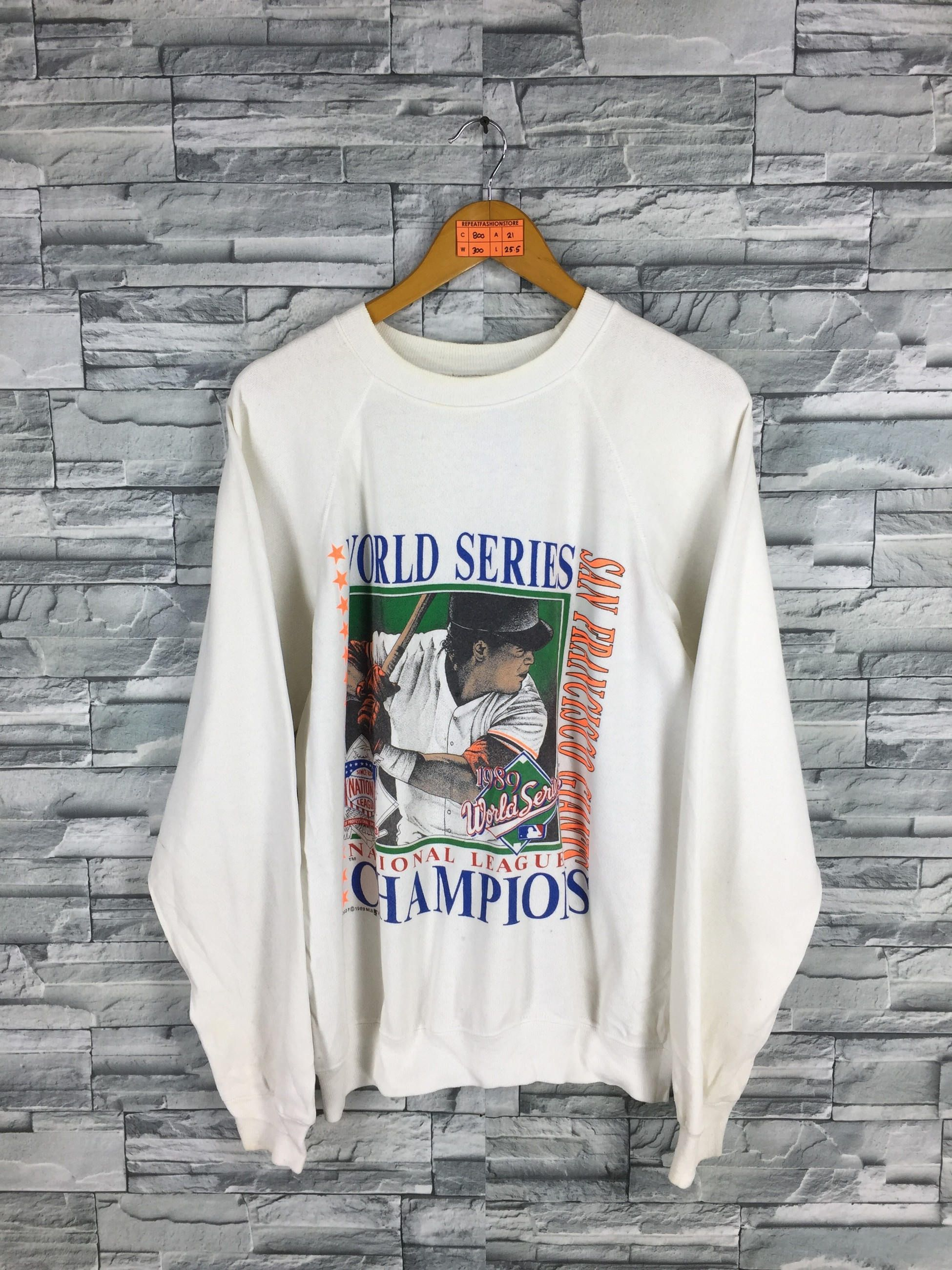 Predownload: San Francisco Giants Jumper Sweater Large Vintage 90 S World Champion Giants Baseball Team Mlb Baseball Whit Pullover Sweatshirts Sweatshirts Unique Sweatshirt [ 2600 x 1950 Pixel ]