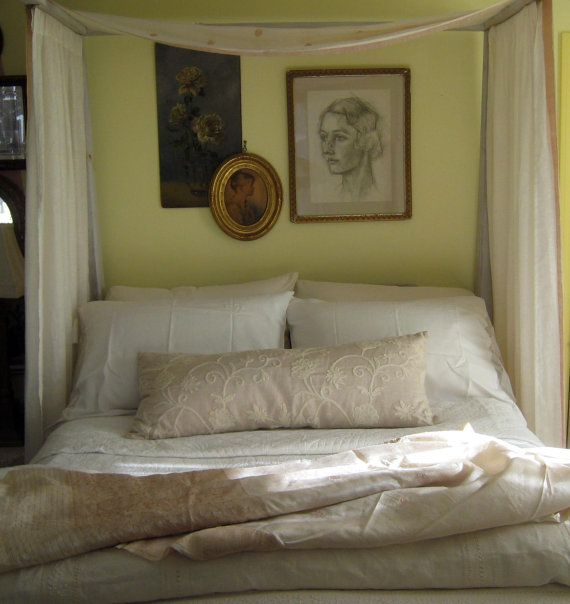 Vintage French Fabric  Pillow...Actually 2 by GentlemanlyPursuits, $75.00