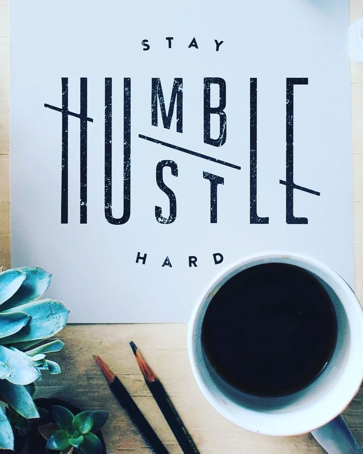 Always be humble and always work hard.  Never give up!  Tag a friend!  #humble #hustle #hustlehard #workhard #neverquit #workhardplayharder