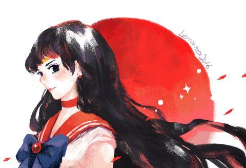 🌙 Sailor Mars