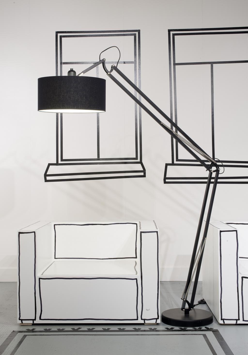 Vloerlamp Milano - Zwart - It\'s About RoMi | verlichting | Pinterest ...