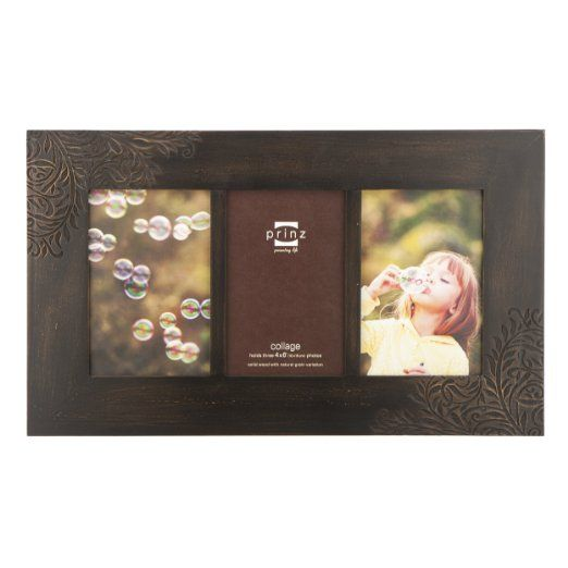 Amazon Com Prinz Perry Vine Wood Photo Frame 3 4 By 6 Inch Espresso Picture Frames Wood Photo Frame Picture Frames Frame