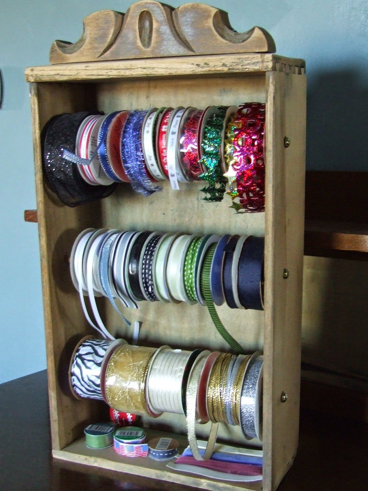 Magnetic Makeup: Old Chairs And Dresser Drawers