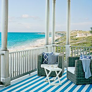 10 Spring-cleaning Tips for Your Porch | Wood and Wicker | CoastalLiving.com