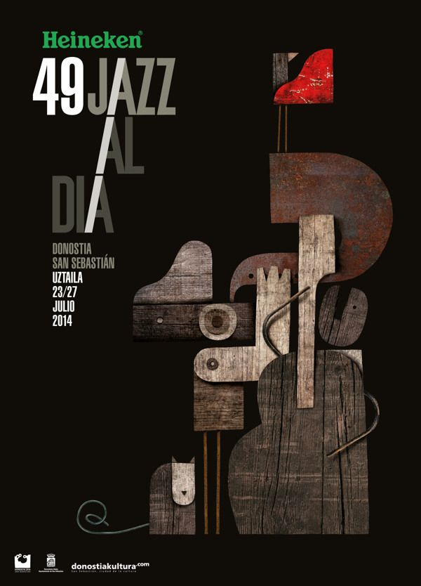 Jazz Poster by martin leon barreto, via Behance
