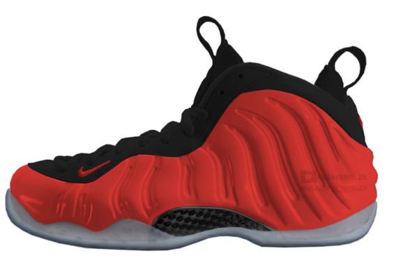 069a9d47f81a Nike Air Foamposite One Habanero Red Expected To Release Later This Year  Release Date  October