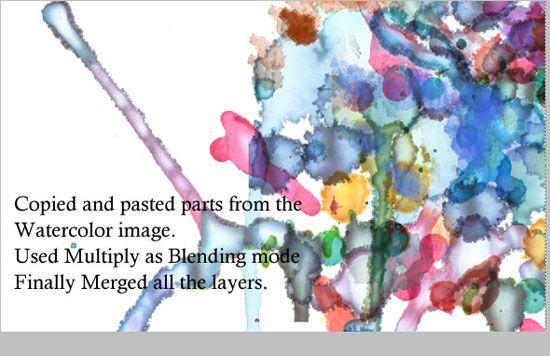 Creating An Abstract Watercolor Wallpaper