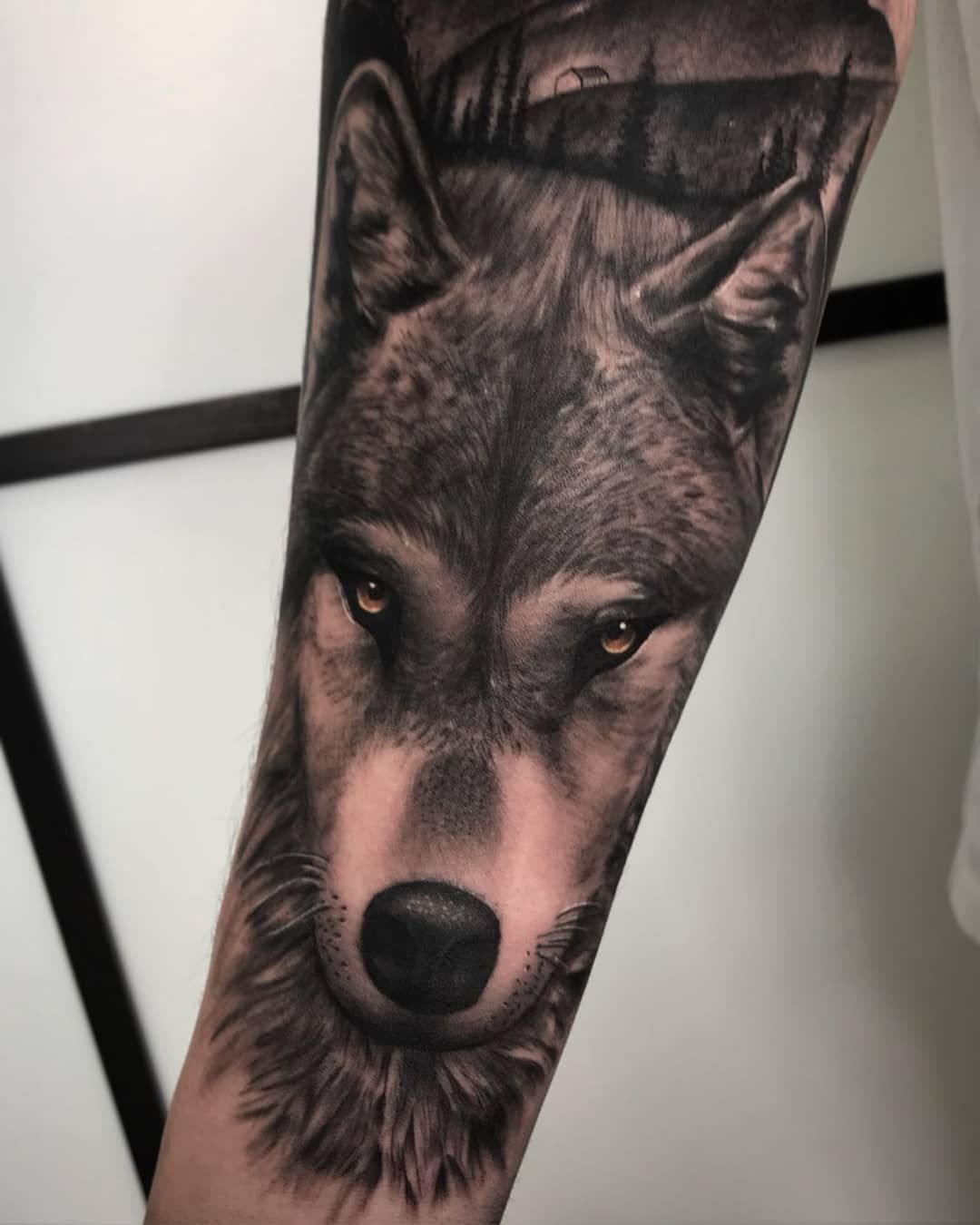 50 Of The Most Beautiful Wolf Tattoo Designs The