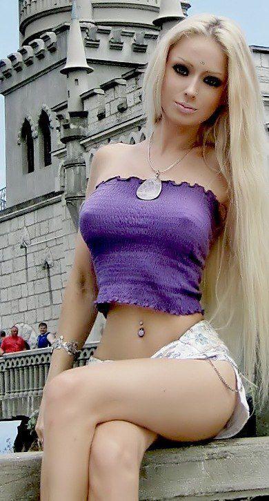 Lukyanova barbie Real life nude valeria