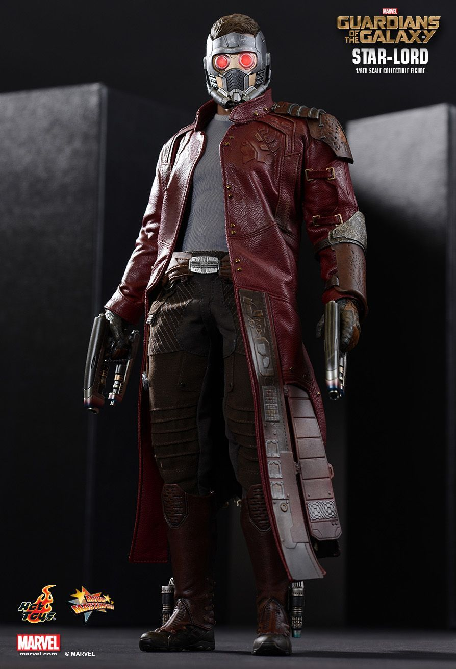 Star Lord Guardians Of The Galaxy 1 6th Scale Collectible Figure Hot Toys Star Lord Guardians Of The Galaxy