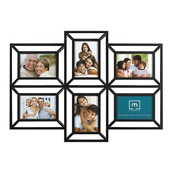 Melannco 6 Opening 4 X 6 Collage Frame Framed Photo Collage