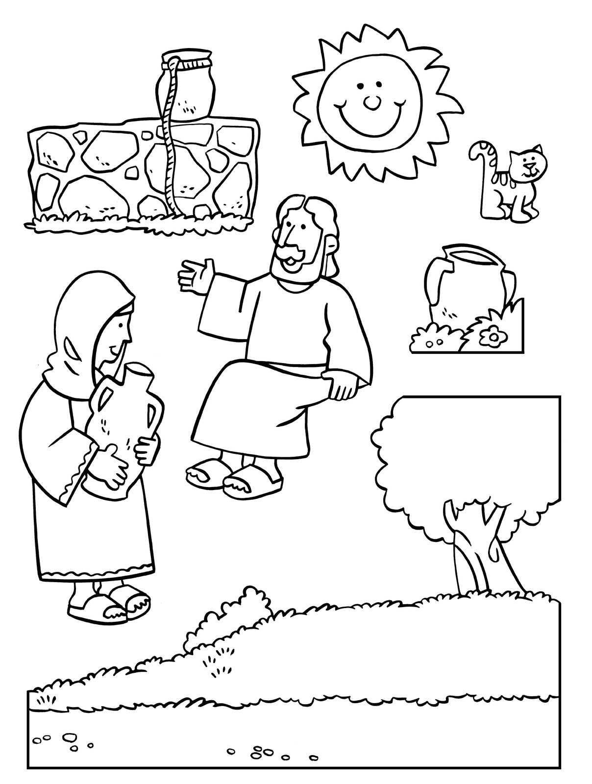 Samaritana 14 | Samaritana | Pinterest | Escuela dominical ...