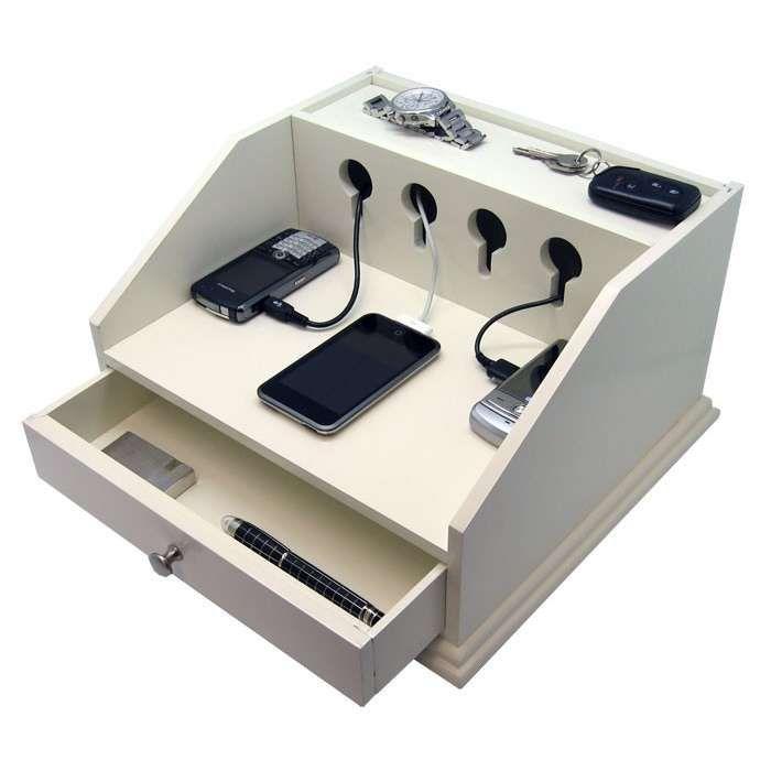 diy charging station 700 700 werkstatt pinterest buchbinderei werkstatt und. Black Bedroom Furniture Sets. Home Design Ideas