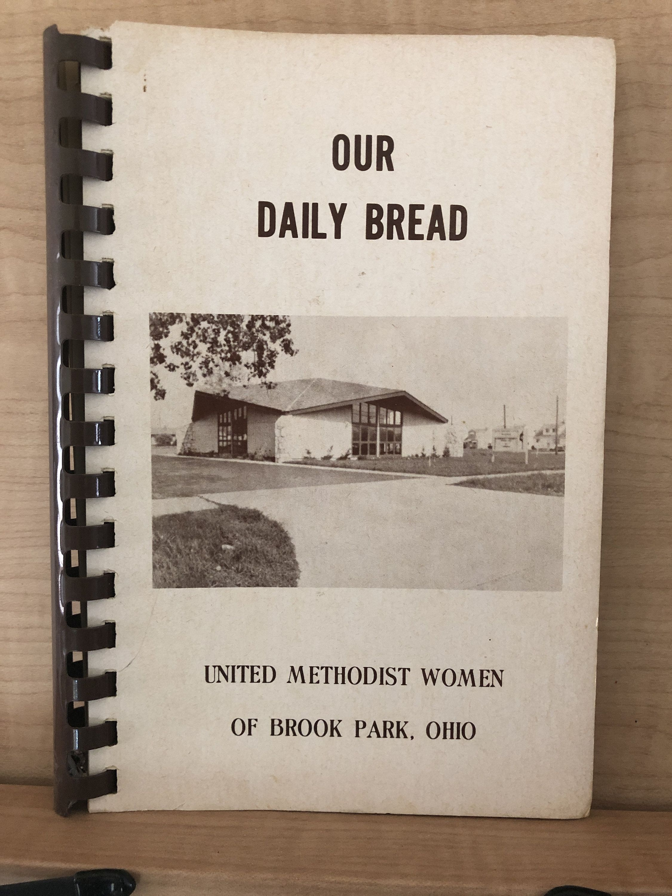 1970s our daily bread vintage cookbook by united etsy