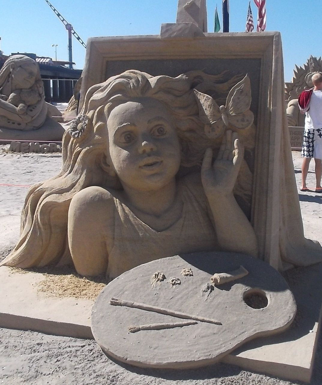 Atlantic City Sand Sculpting World Cup 2014 ~ 2nd place, singles