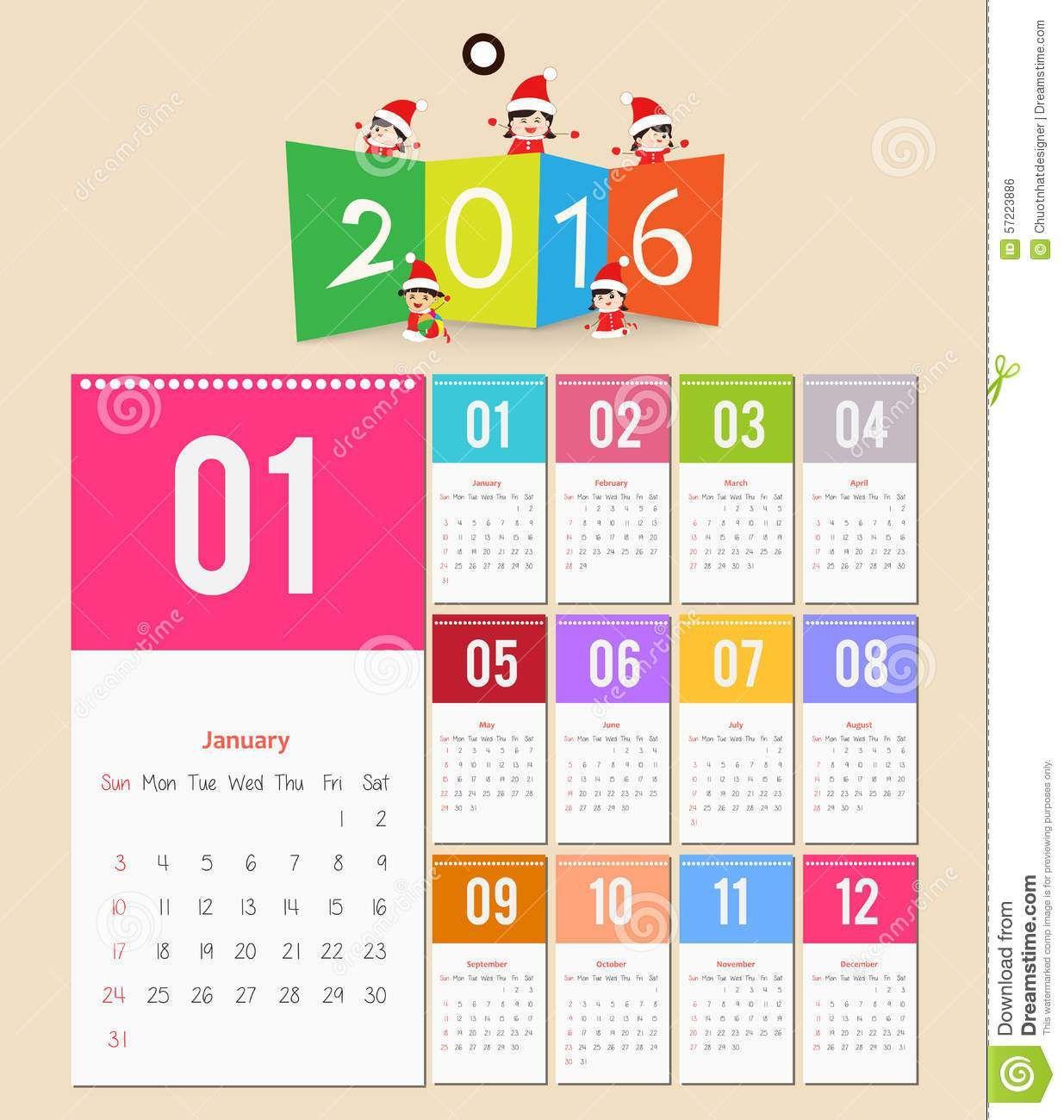 2016 calendar design template montly calendar pinterest see