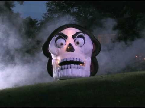 Grandin Road - Inflatable Halloween Skull grandinroad bought