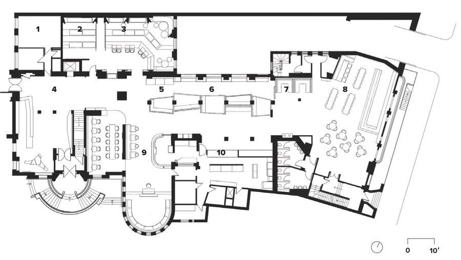 High Design Hostels Canadian Architect Floor Plan Generator Generator Hostel London Higher Design