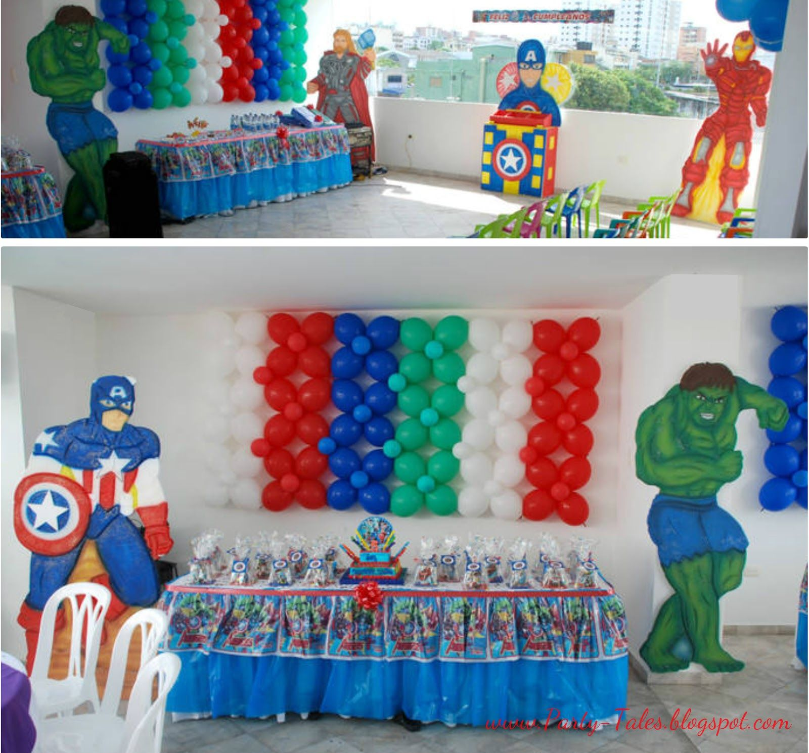 Avengers Party Decorations Party Tales Birthday Party The Avengers Superhero Party