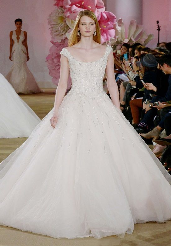 Ines Di Santo Grace Ball Gown Wedding Dress | DREAMING OF WHITE ...