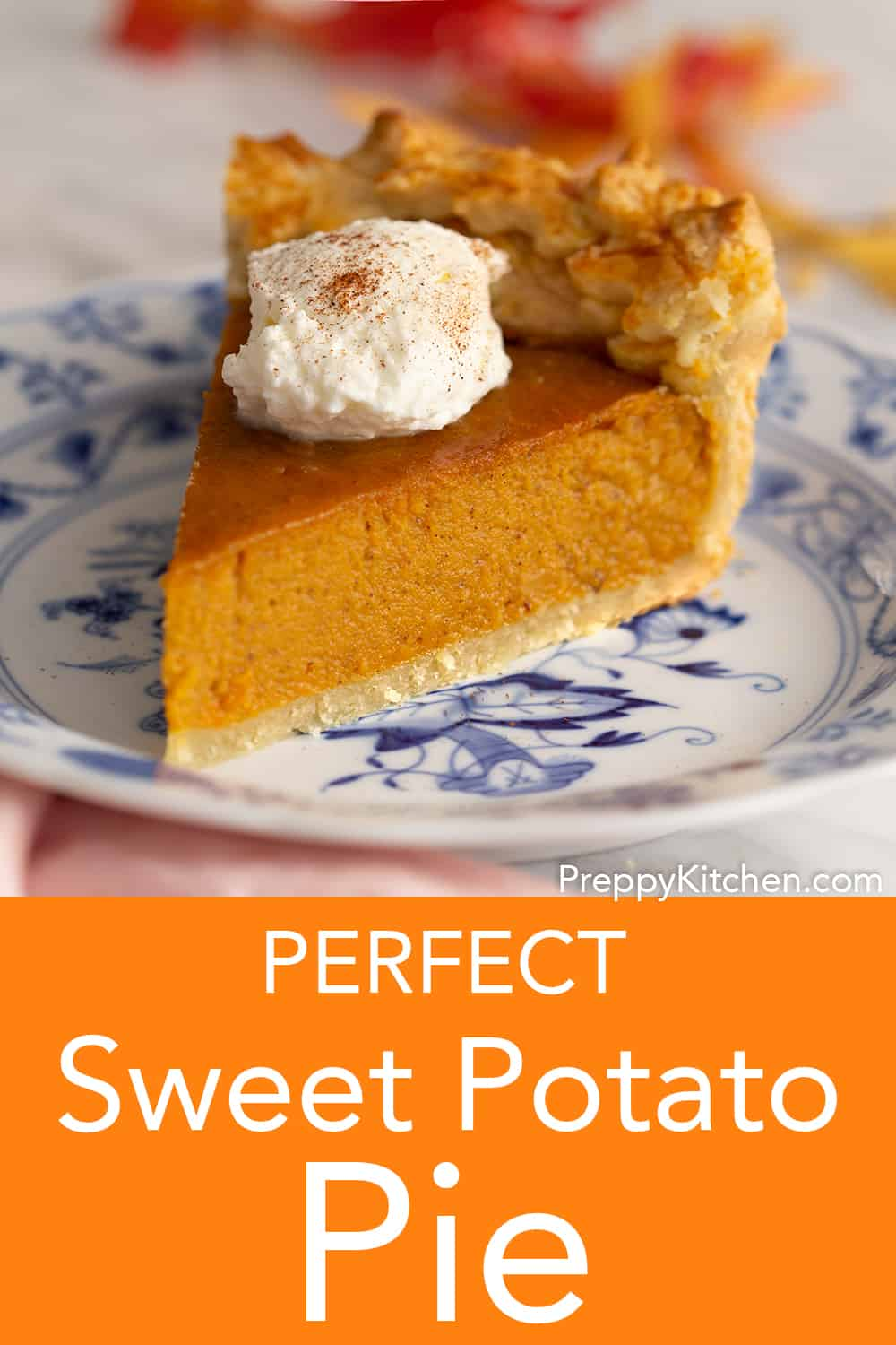 Sweet Potato Pie - Preppy Kitchen