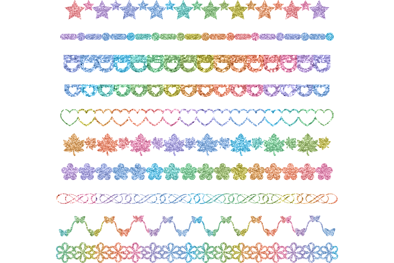 Download Free Glitter Rainbow Boarder Designer Bundle Graphic By Am Digital Designs Creative Fabrica Di 2020 SVG Cut Files