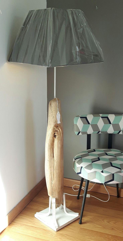 Grande Lampe De Salon En Bois Flotte Luminaires Par Vidal Tm
