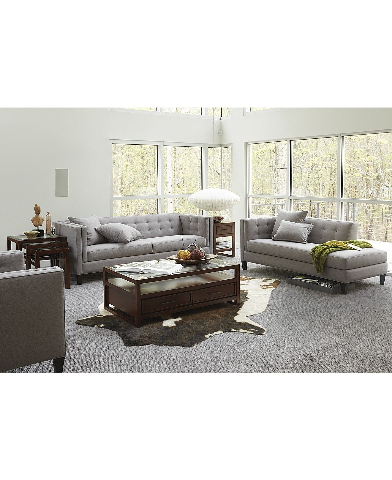 Braylei Track Arm Sofa Collection, Created For Macy's