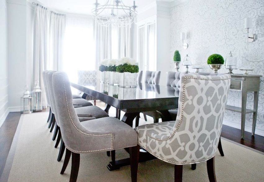 10 Marvelous Dining Room Sets With Upholstered Chairs Elegant