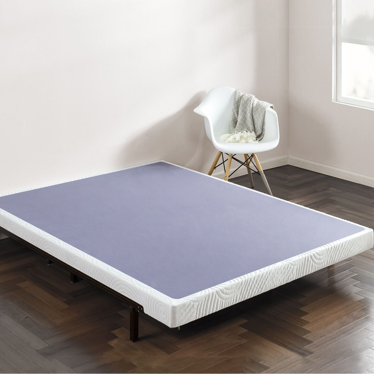 Priage 4 Inch Smart Box Spring Mattress Foundation
