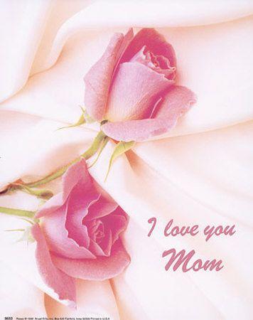 I Love You Mom Print C10055306