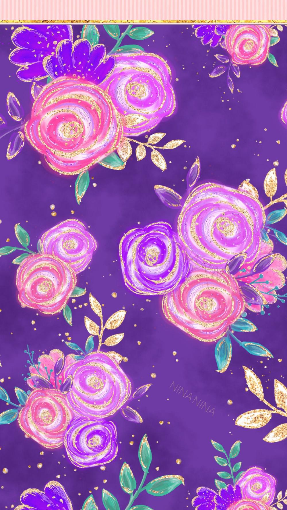 Fairy Digital Papers Pack Glitter Unicorn Seamless Patterns | Etsy
